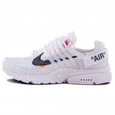 Мужские Off-White x Nike Air Presto White
