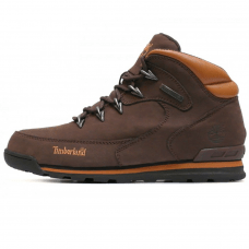 Фотография 1 Мужские Timberland Euro Sprint Hiker Hiking Dark Brown With Fur