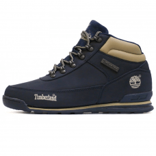 Фотография 1 Мужские Timberland Earthkeepers Euro Rock Hiker Dark Blue With Fur