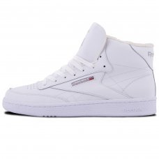Зимние Reebok Classic High White With Fur