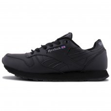 Зимние Reebok Classic All Dark Black With Fur