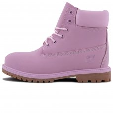 Женские Timberland 10061 Pink With Fur