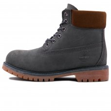 Женские Timberland 10061 Dark Green With Fur