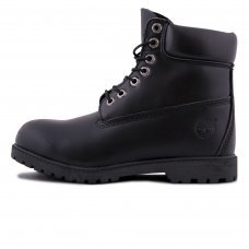 Унисекс Timberland 10061 Leather Black With Fur