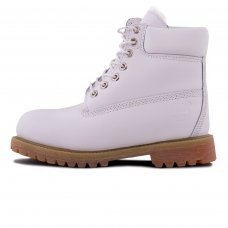 Женские Timberland 18027 White With Fur