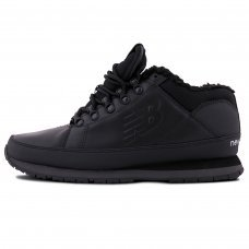 Зимние New Balance 754 All Black With Fur