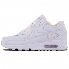 Фотография 1 Зимние Nike Air Max 90 White With Fur