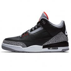 Мужские Nike Air Jordan 3 Retro Black Cement