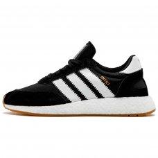 Мужские Adidas Iniki Runner Black/White