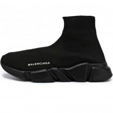 Женские Balenciaga Speed Trainer All Black