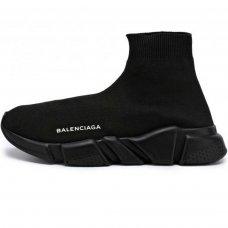Фотография 1 Женские Balenciaga Speed Trainer All Black