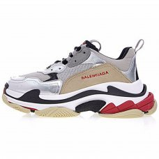 Фотография 1 Унисекс Balenciaga Triple S With Metallic Silver